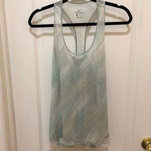 Nike Breathe Tank Top NWT teal and grey M